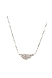 Lets Accessorize Pave Wing Necklace - Product Mini Image