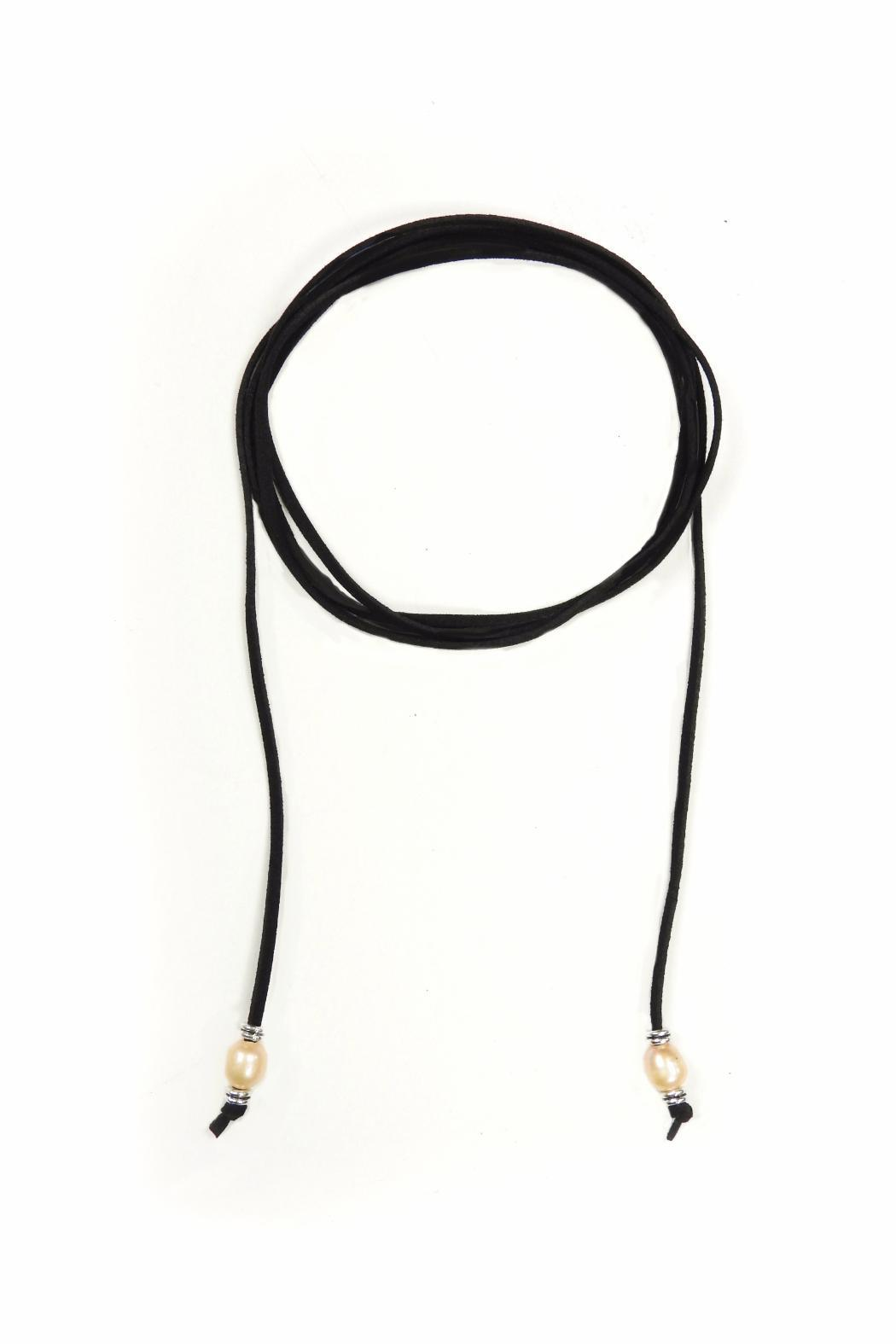 Lets Accessorize Pearl Loop Choker - Main Image