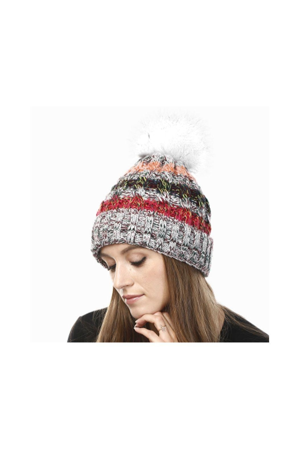 Lets Accessorize Pom Pom Hat - Main Image