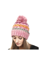 Lets Accessorize Pom Pom Hat - Front cropped