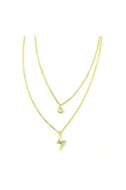 Lets Accessorize Powerful Layer Necklace - Front cropped