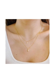 Lets Accessorize Powerful Layer Necklace - Front full body