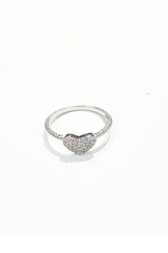 Lets Accessorize Rhinestone Heart Ring - Alternate List Image