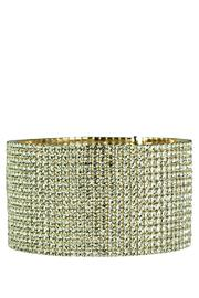 Lets Accessorize Rhinestone Statement Cuff - Product Mini Image