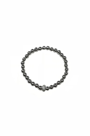 Lets Accessorize Silver Crystal Bracelet - Product Mini Image