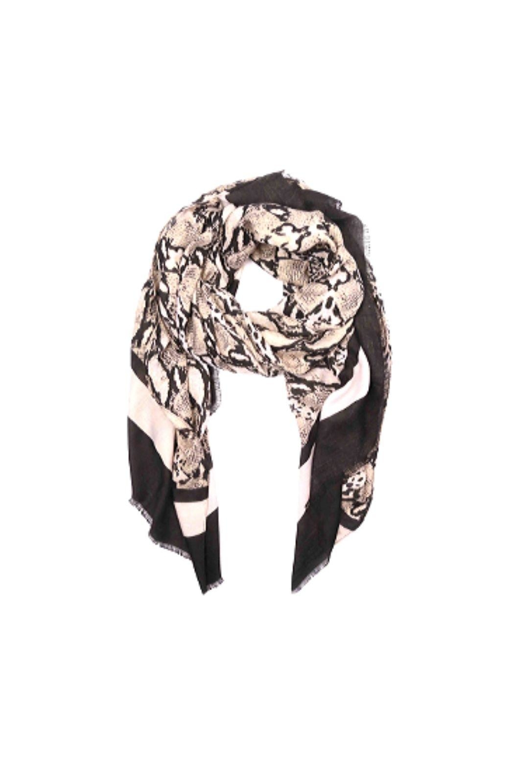 Lets Accessorize Snake Print Scarf - Main Image
