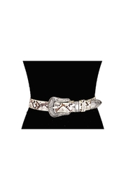 Lets Accessorize Snakeskin Belt - Product Mini Image