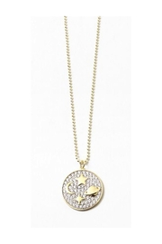 Lets Accessorize Space Disc Necklace - Product Mini Image