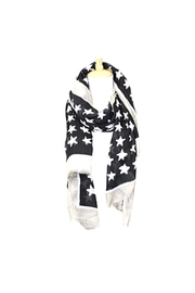 Lets Accessorize Star Scarf - Front cropped