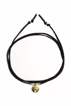 Lets Accessorize Suede Loop Choker - Alternate List Image