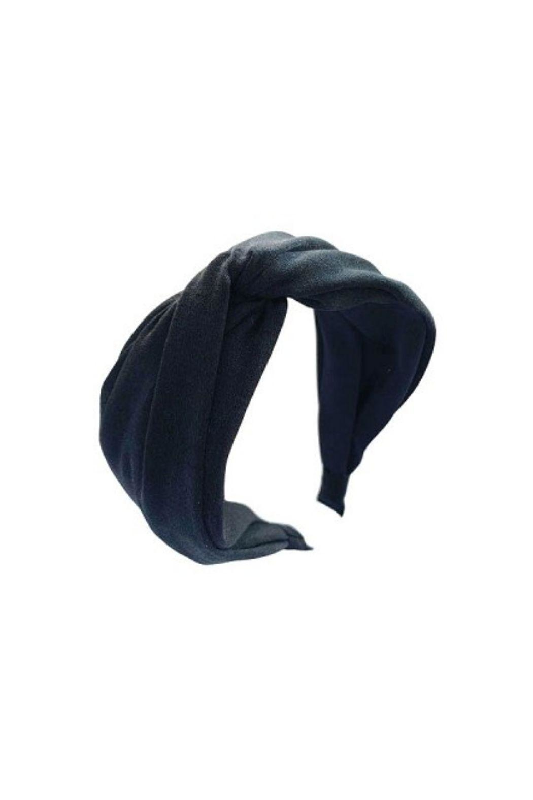 Lets Accessorize Twist Headband - Front Cropped Image