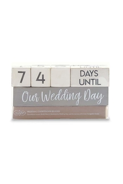 Shoptiques Product: Wedding Countdown Set