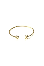 Lets Accessorize Xo Pave Bangle - Front cropped