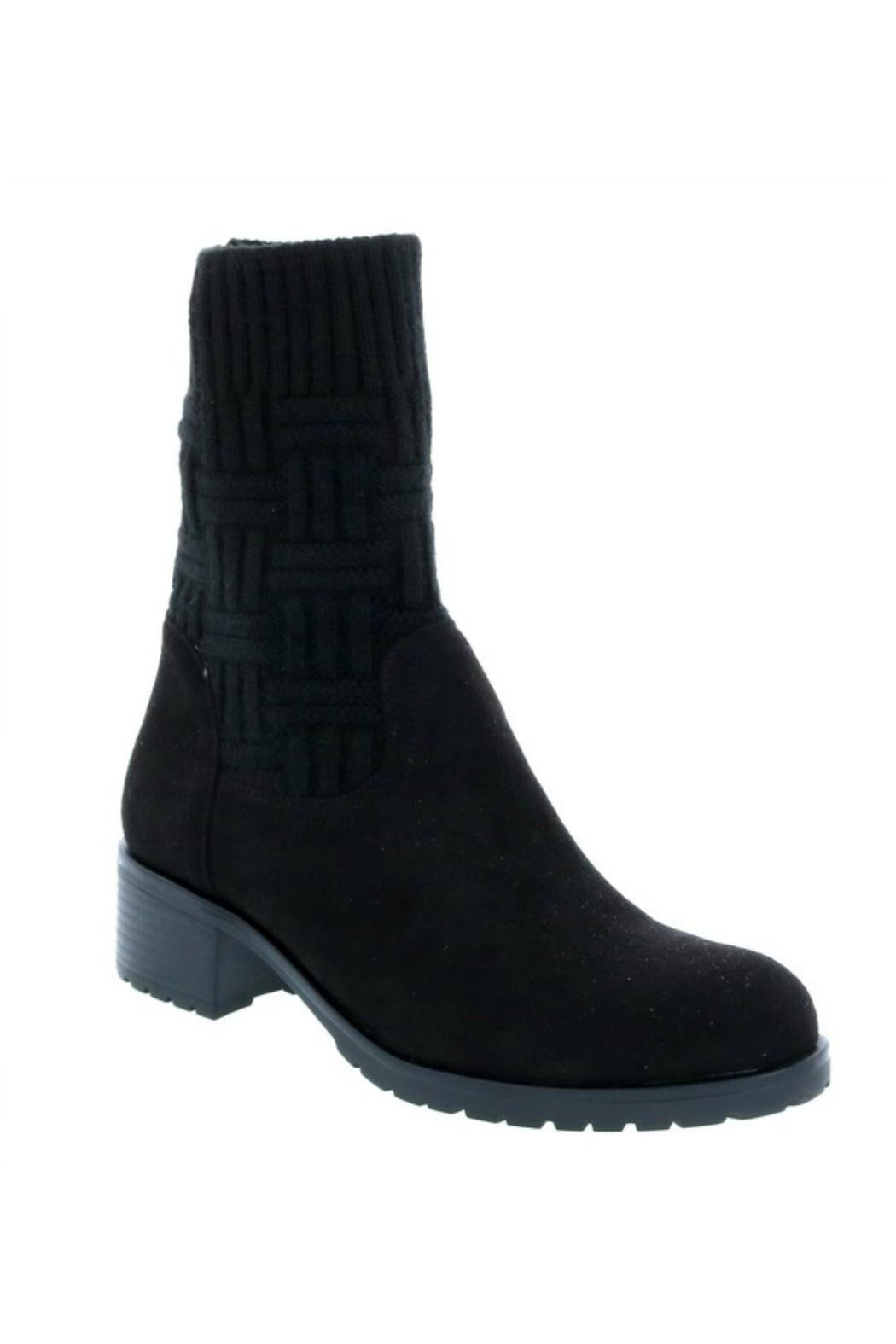 Lets See Style Sock Bootie - Front Cropped Image