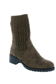 Lets See Style Sock Bootie - Front cropped