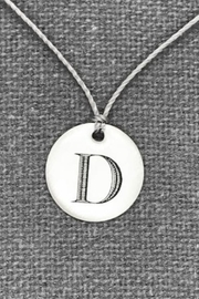Everyday Artifact Letter Pendant - Product Mini Image