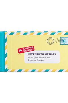 Chronicle Books Letters To My Baby Remembrance Book - Product List Image