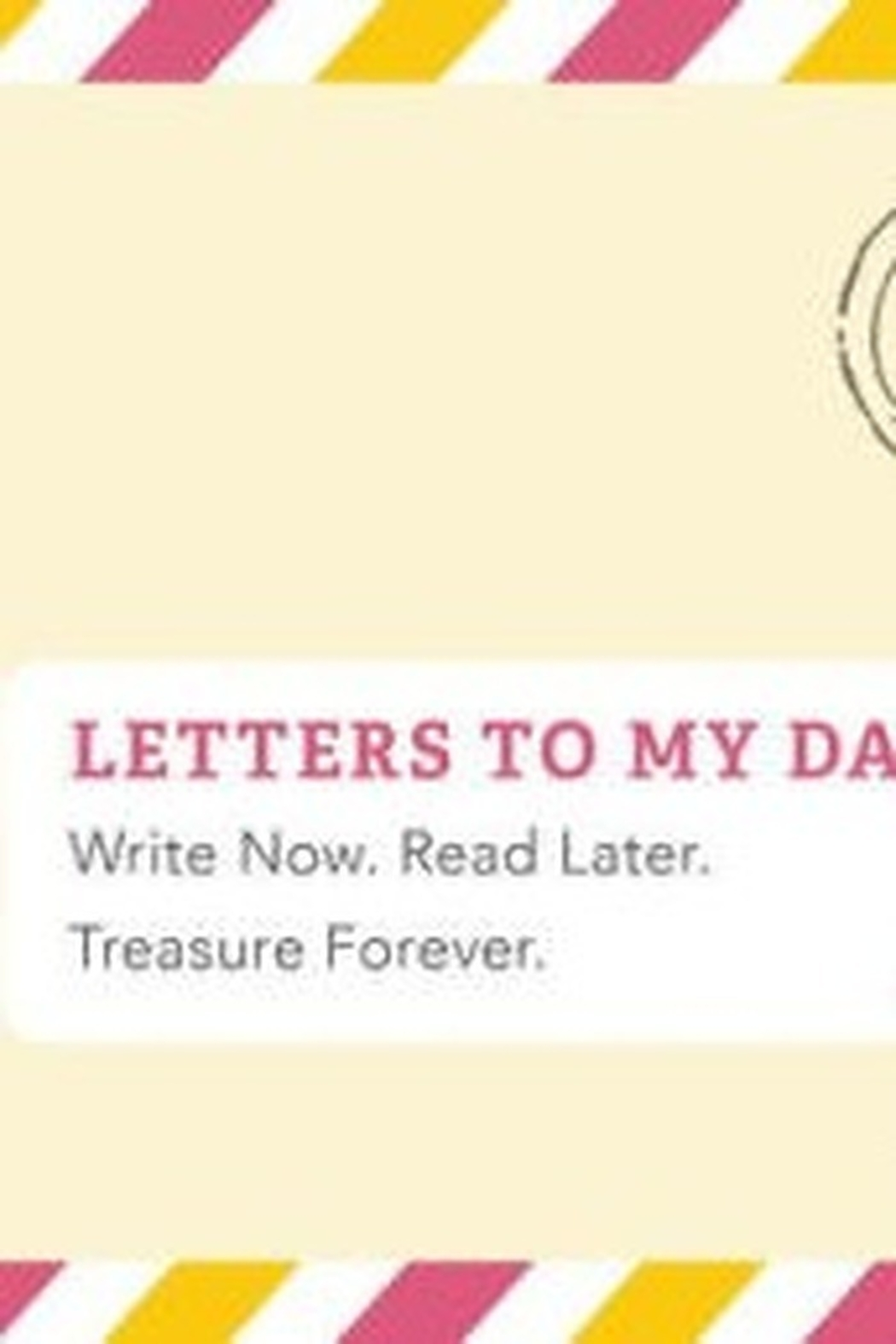 Chronicle Books Letters to my Daughter Remembrance Book - Main Image