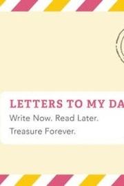 Chronicle Books Letters to my Daughter Remembrance Book - Front cropped