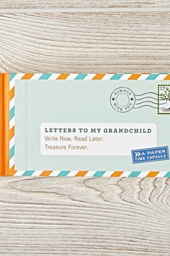 Chronicle Books Letters to my Grandchild Book - Alternate List Image