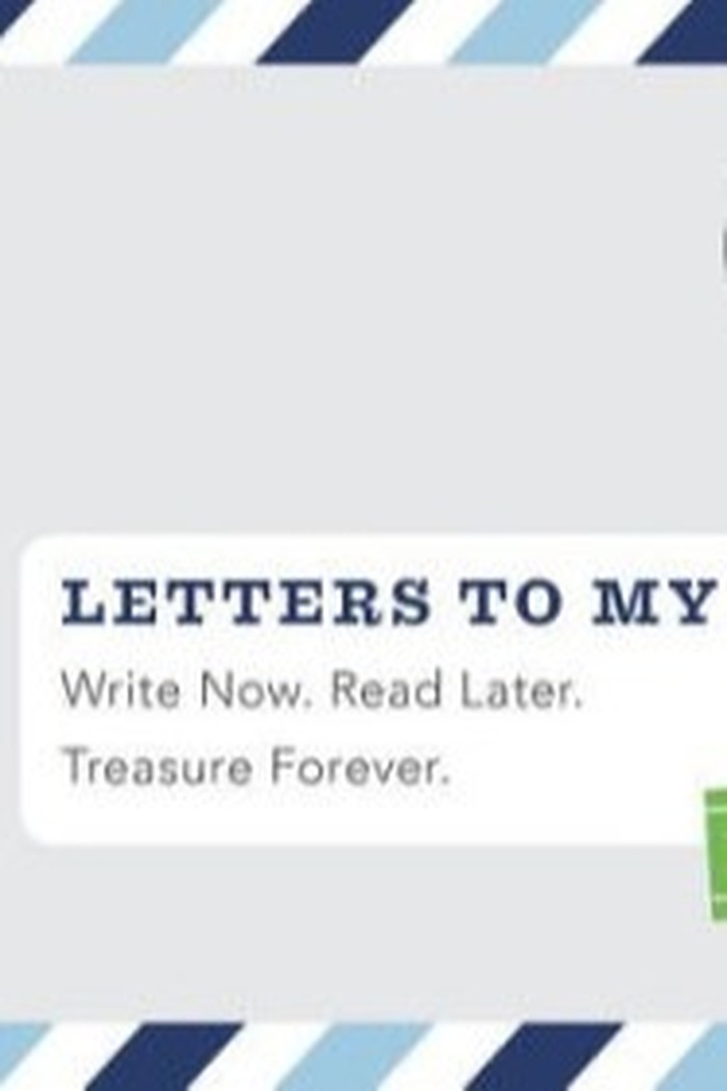 Chronicle Books Letters to my Son Remembrance Book - Main Image