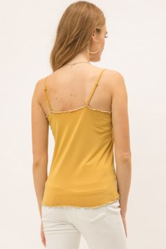 Mystree Lettuce Edge Tank Top - Alternate List Image