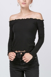 HYFVE Lettuce-Edge Top - Front cropped