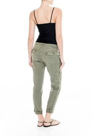 Level 99 Linen Dayla Pant - Side cropped