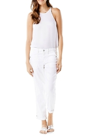 Level 99 Linen Dayla Pant - Front cropped