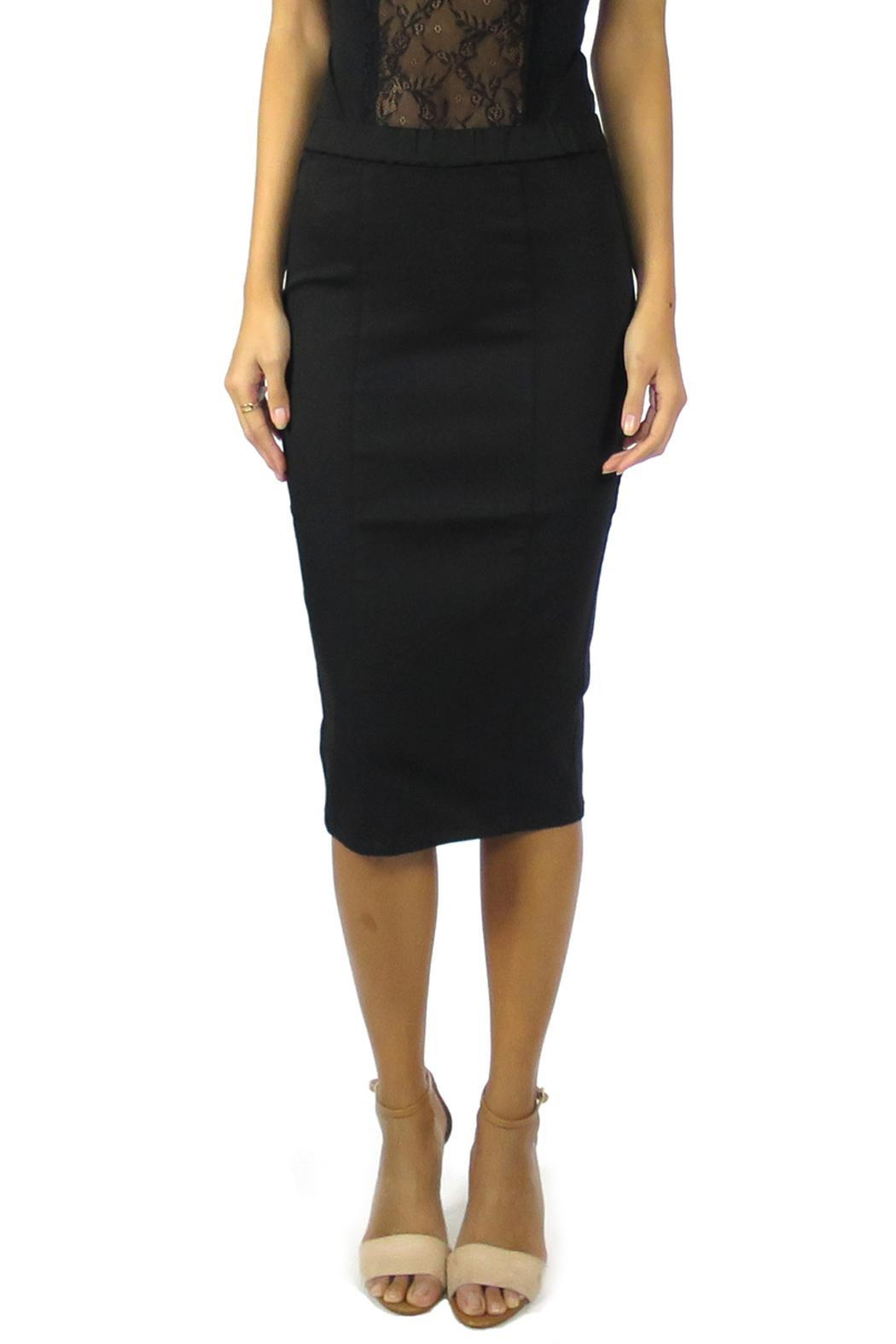 Level 99 Pepper Pencil Skirt - Front Cropped Image