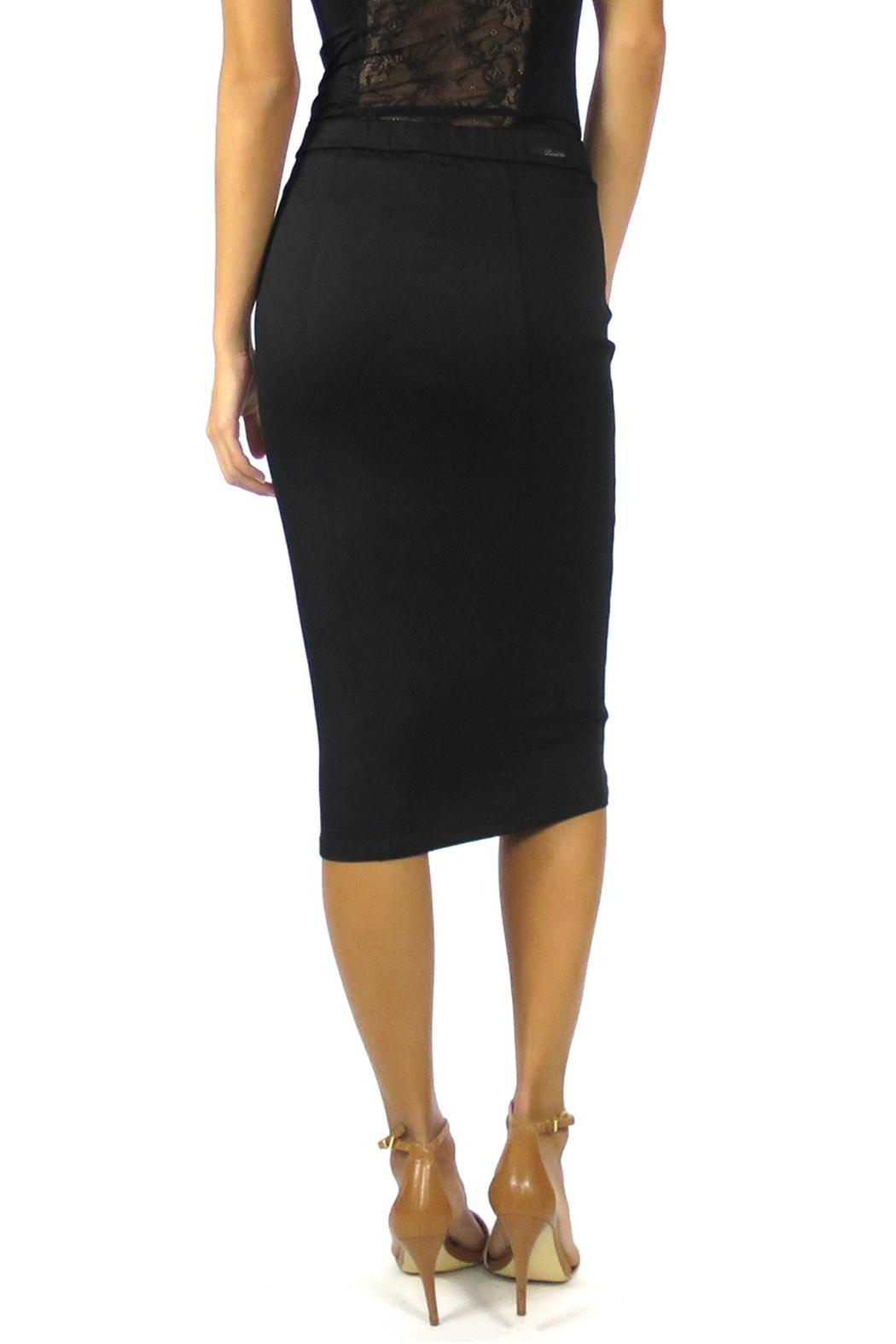 Level 99 Pepper Pencil Skirt - Back Cropped Image