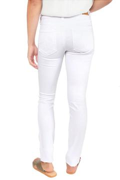 Level 99 White Skinny Jeans - Alternate List Image