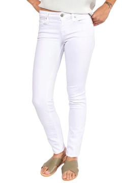 Level 99 White Skinny Jeans - Product List Image
