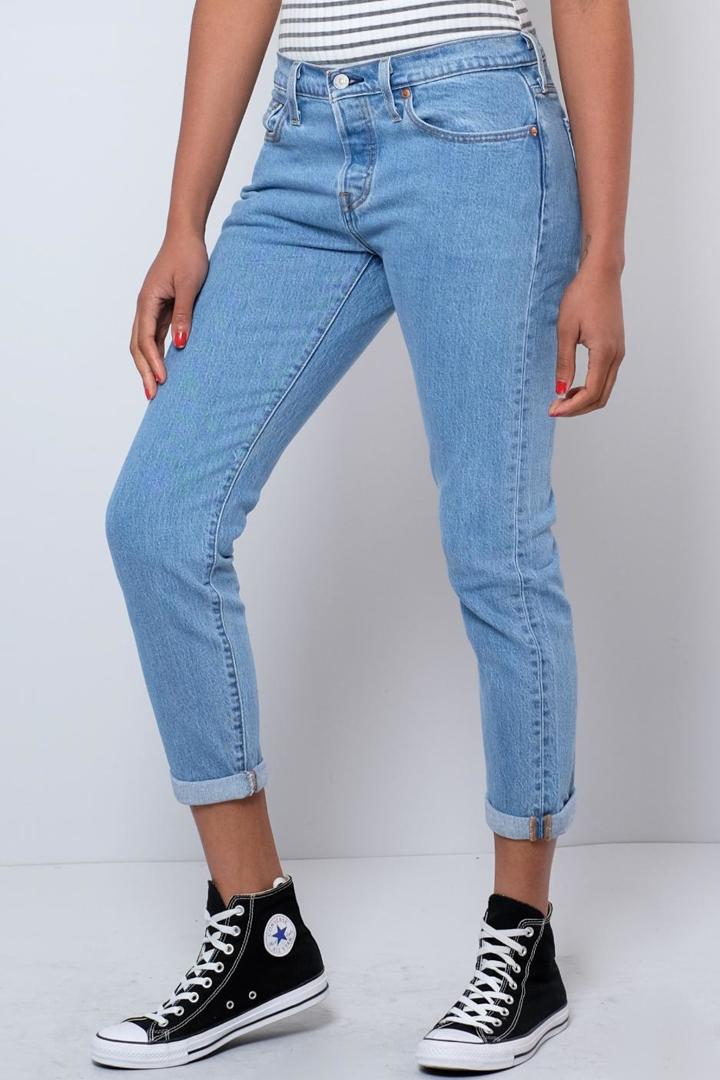 Levi's Tapered Jeans - Front Full Image