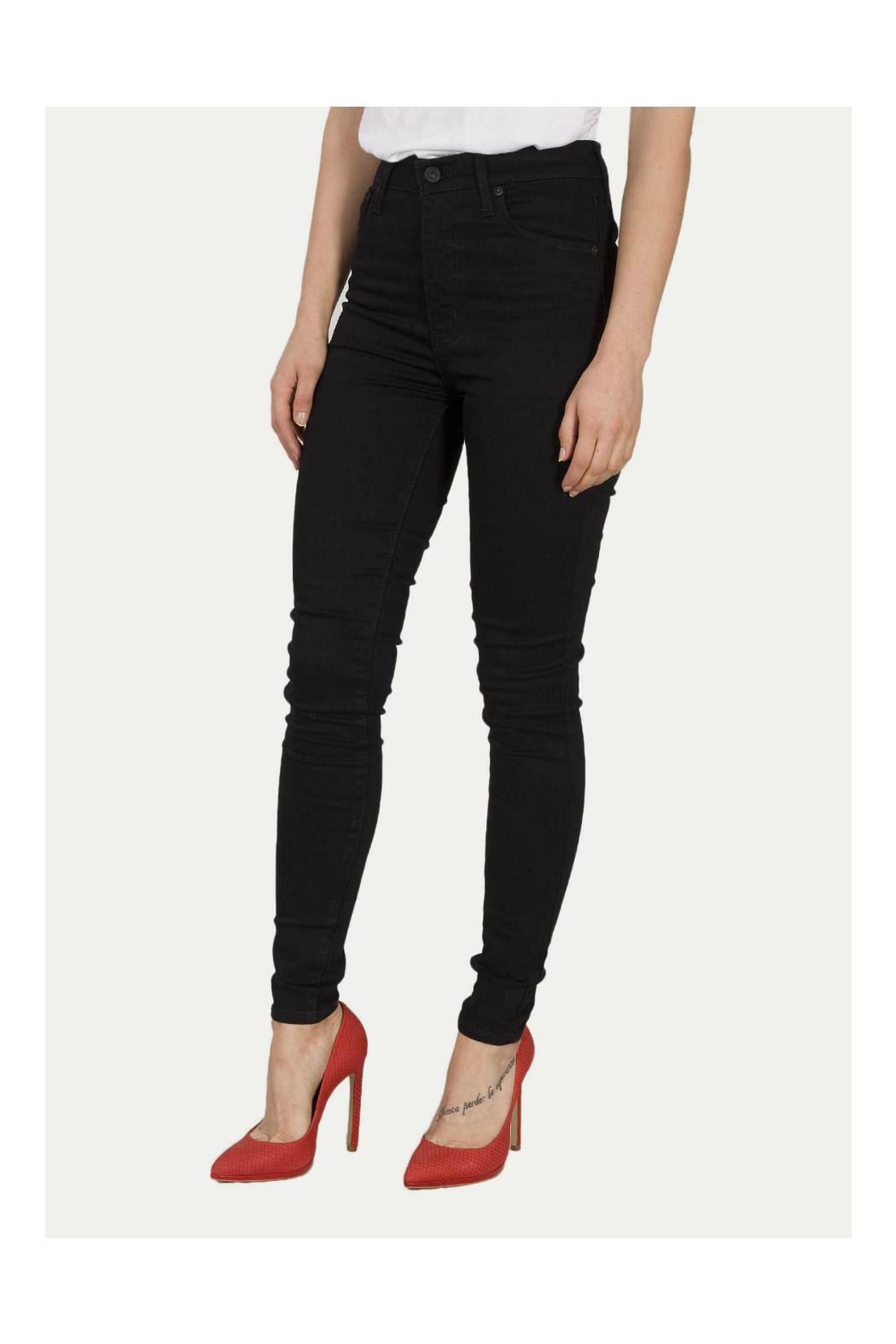 Levi's Mile High Skinny Jeans - Main Image