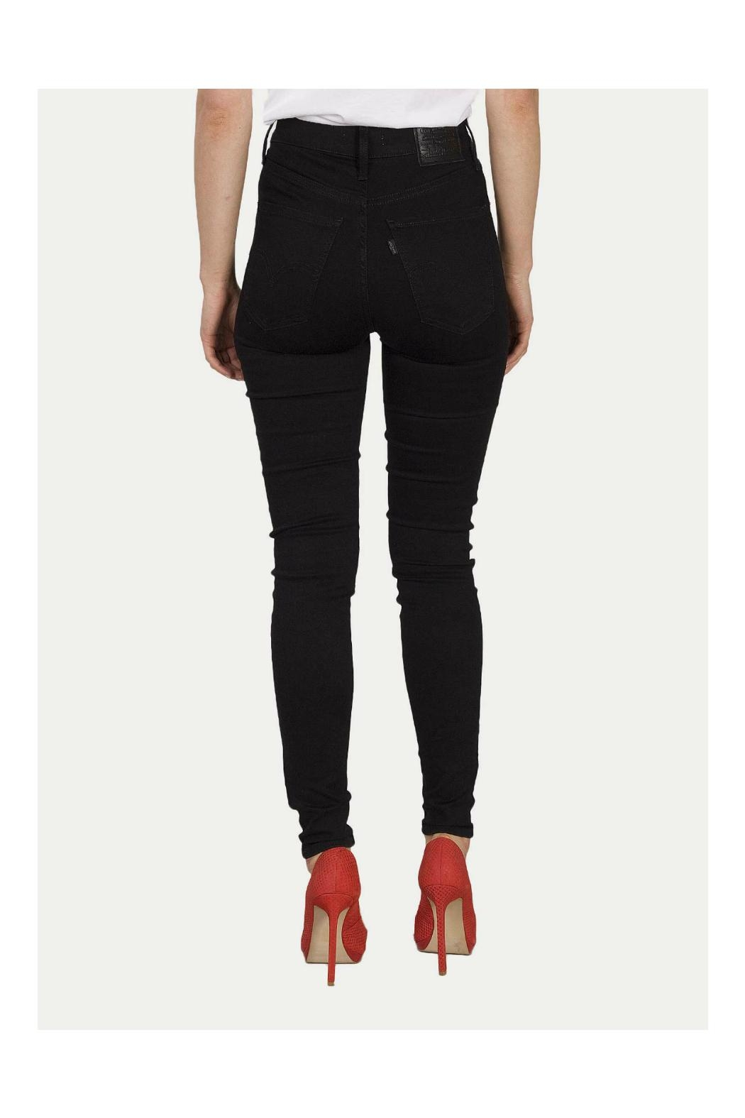 Levi's Mile High Skinny Jeans - Side Cropped Image
