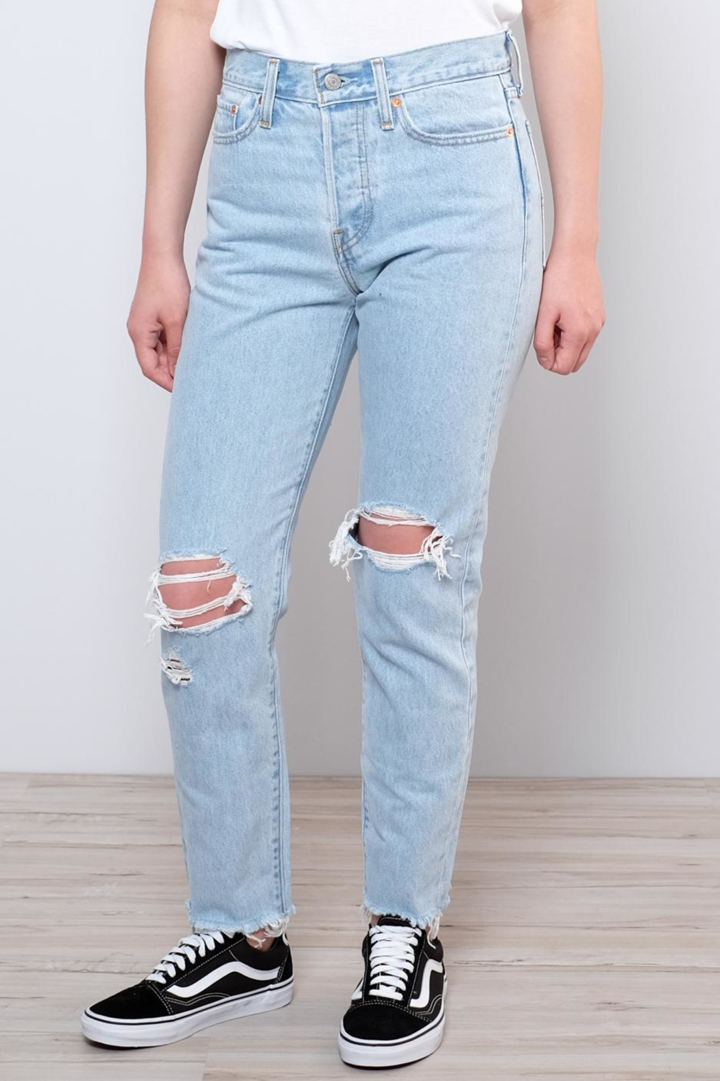 Levis Vintage Collection Wedgie Icon Fit Jeans - Front Full Image