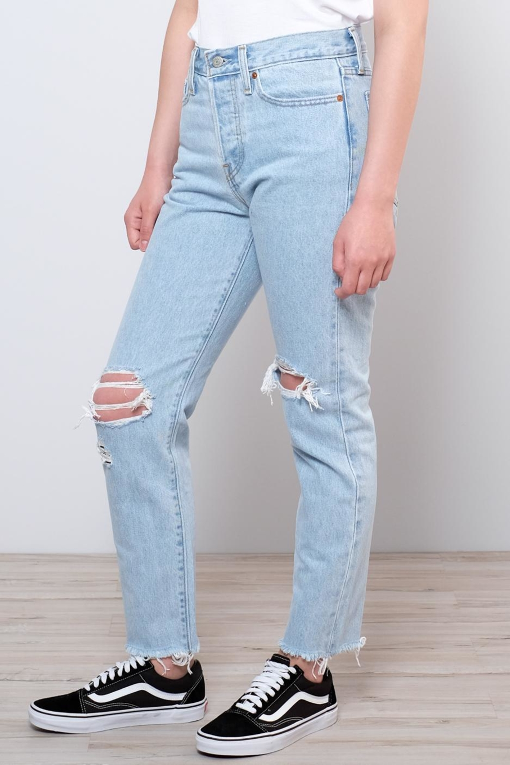 Levis Vintage Collection Wedgie Icon Fit Jeans - Side Cropped Image
