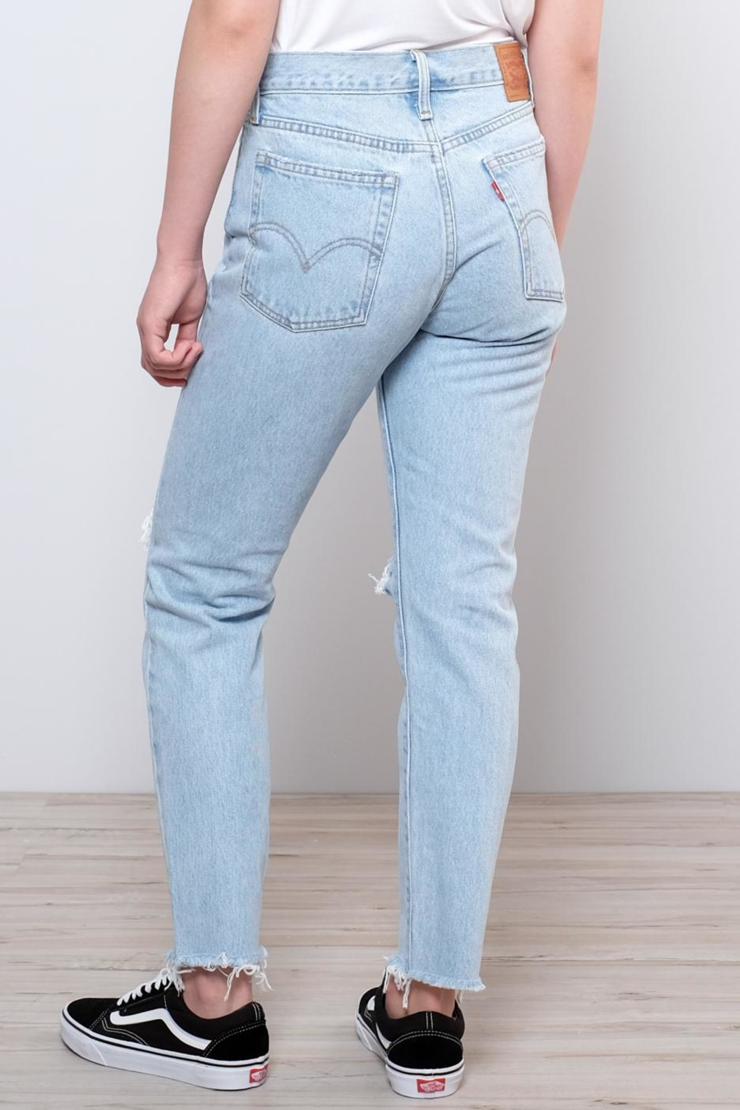Levis Vintage Collection Wedgie Icon Fit Jeans - Back Cropped Image