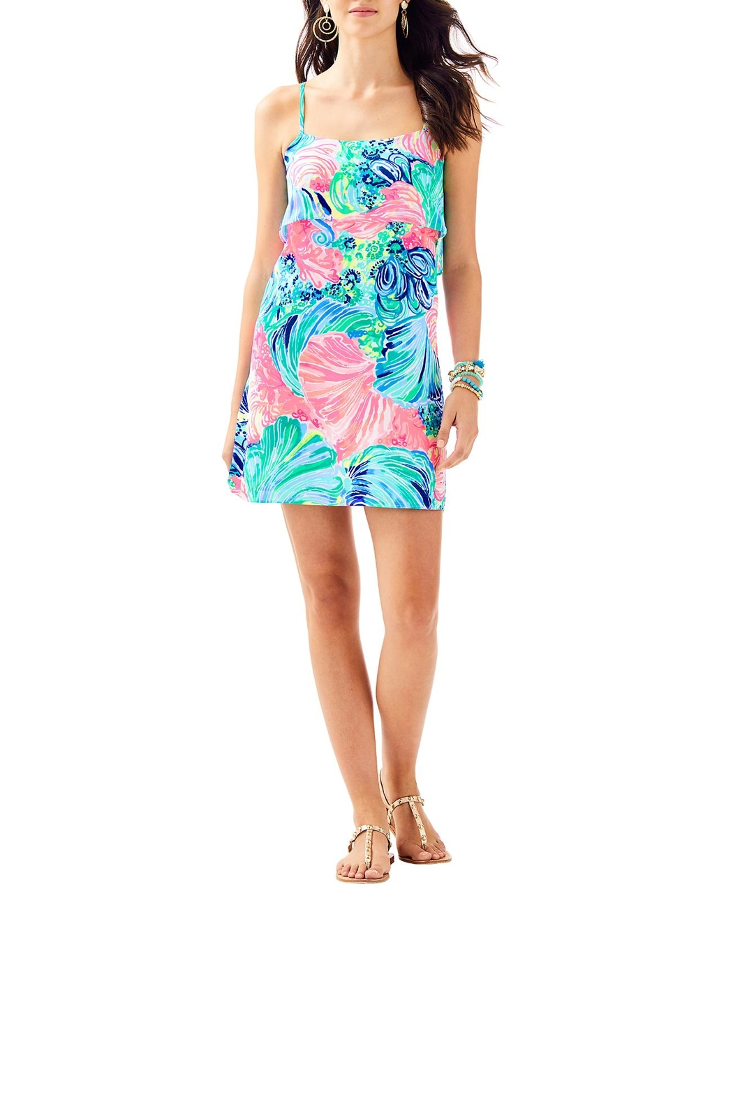 Lilly Pulitzer Lexi Dress - Side Cropped Image