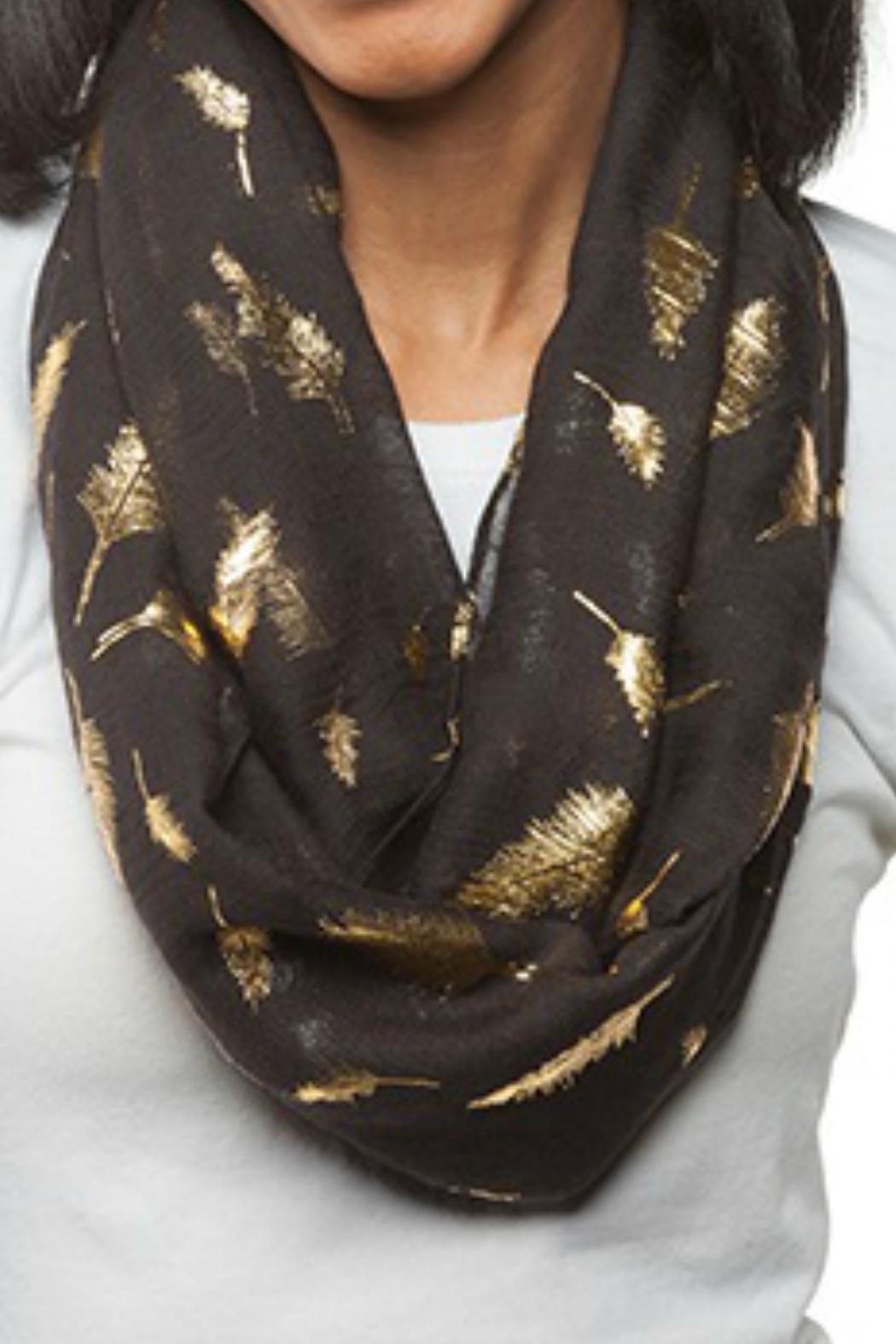 Lexi York Gold Leaf Scarf from Williamsburg by Paisley — Shoptiques