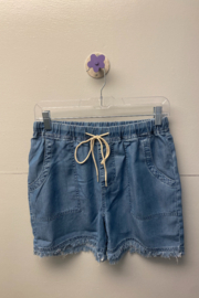 Beach Lunch Lounge Lyssa chambray shorts - Front cropped