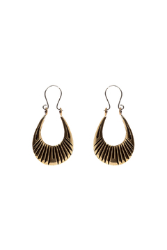 Shoptiques Product: Brass Lazarus Hoops