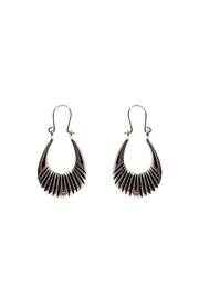 LHN Jewelry Silver Lazarus Hoops - Product Mini Image