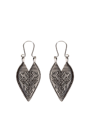 LHN Jewelry Silver Lazarus Spear Earrings - Product Mini Image