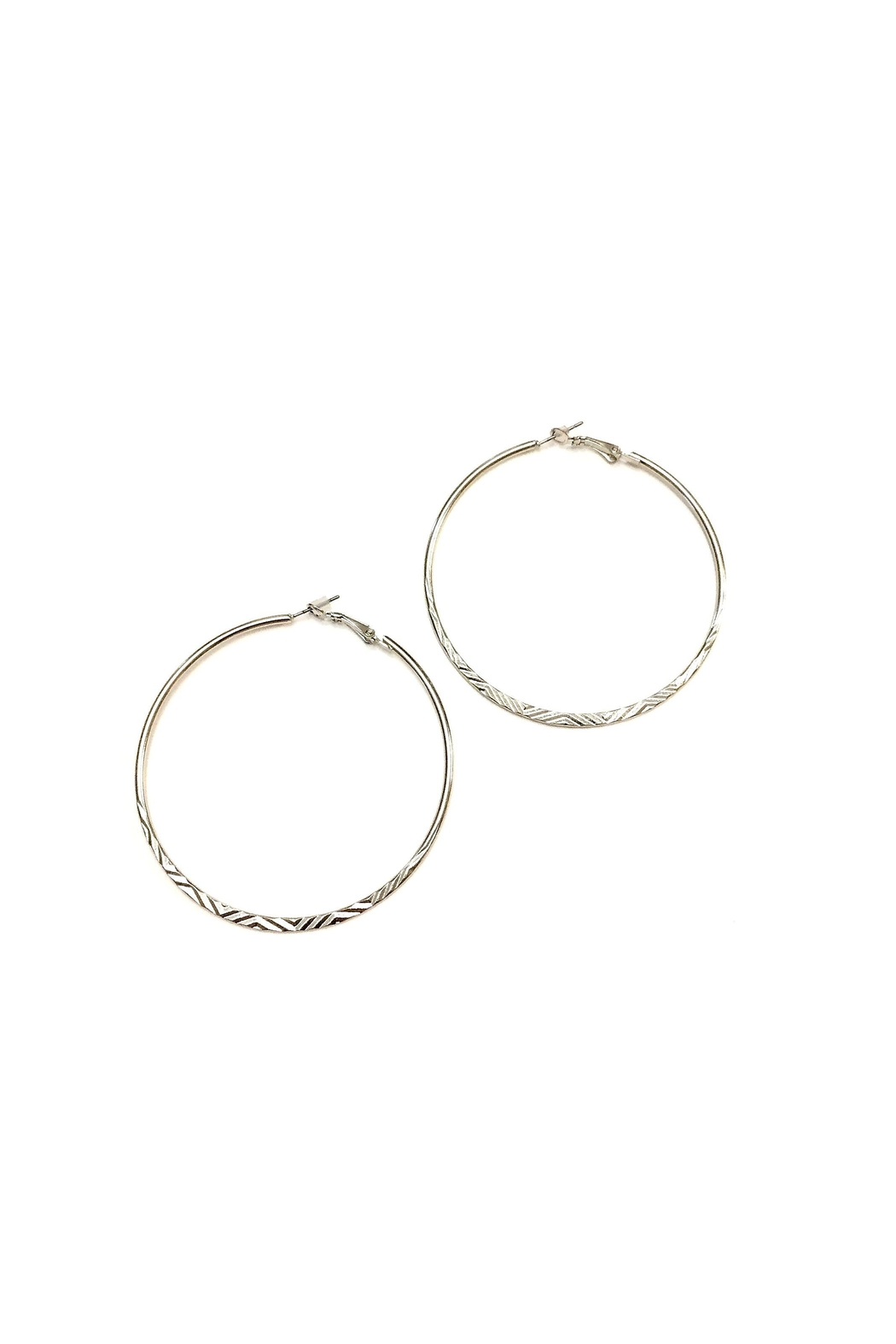 Love's Hangover Creations Lho Hoop Earrings - Main Image