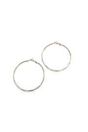 Love's Hangover Creations Lho Hoop Earrings - Front cropped