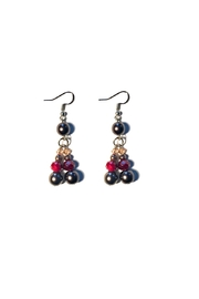 Love's Hangover Creations Lho Pearl Earrings - Front cropped