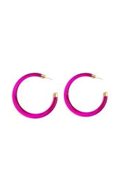 Love's Hangover Creations Lho Pink Hoops - Product Mini Image