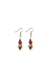 Love's Hangover Creations Lho Red Earrings - Product Mini Image